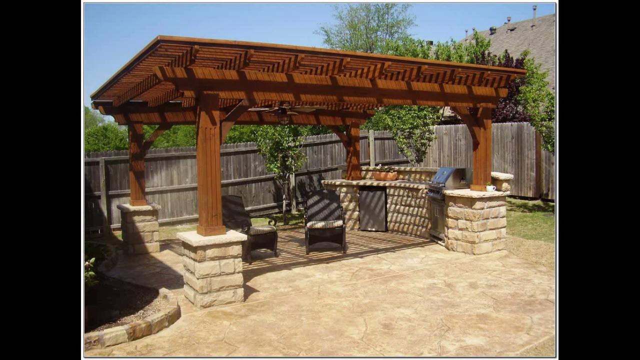Outdoor kitchen design philippines - YouTube on Backyard Kitchen Design id=99205