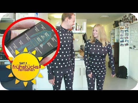 Nie wieder Shoppen gehen! Maßgeschneiderte Klamotten mit ZOZOSUIT kaufen | SAT.1 Frühstücksfernsehen