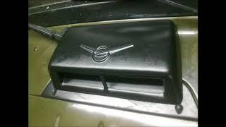 Устанавливаем печь НАМИ- 4 в УАЗ