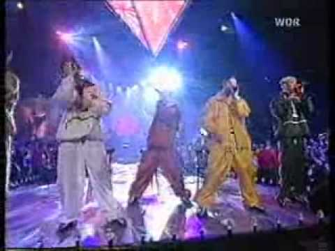 N sync - Here we go, For the girl who has everything, Tearin' up my heart (live).wmv
