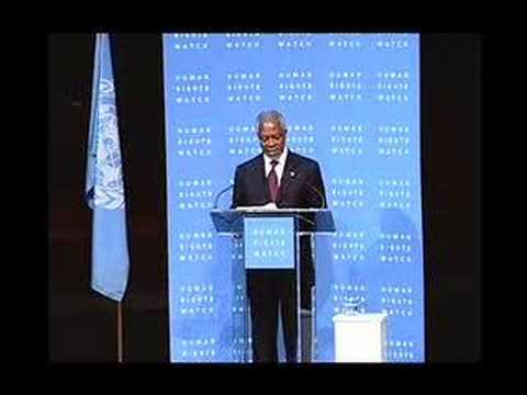 Kofi Annan's Speech to Mark International Human Rights Day