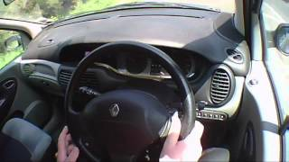 Renault Scenic 1.9 2003 Review (Not Top Gear) EXCLUSIVE.