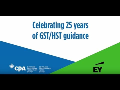 EY's complete guide to GST/HST: Canada's leading guide on