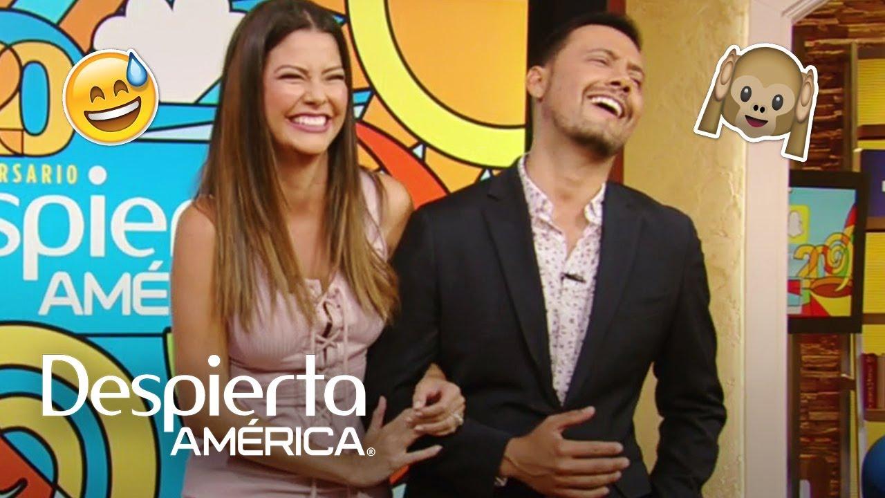 Ana Patricia y Luis Sandoval quieren romper su racha de chistes malos