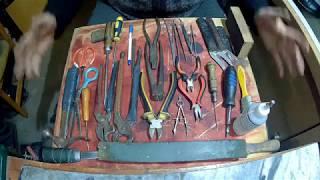 Обзор  моего   инструментов для ремонта обуви