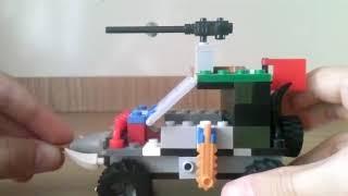 Лего саморобка на тему зомбі апокаліпсис бойова машина