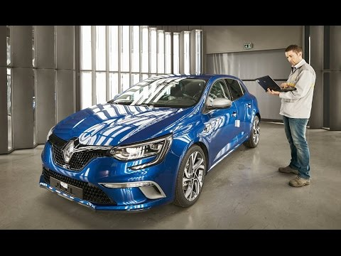 Renault Megane Production at Palencia plant