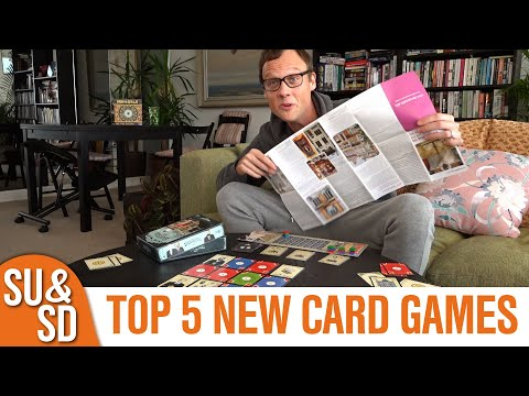 Our 5 Favourite Brand-New Card Games