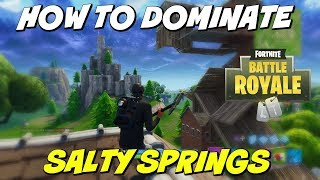 Fortnite Salty Springs Tips | How To Win King Status