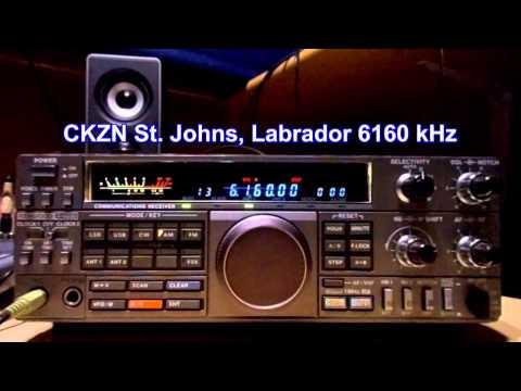 CKZN St Johns Labrador 6160 kHz
