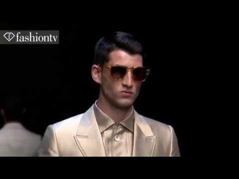 Dolce & Gabbana Men Spring/Summer 2014 | Milan Men's Fashion Week | FashionTV