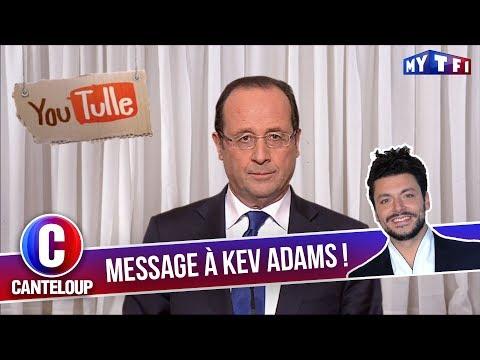 """Imitation de François Hollande - """"Pas facile tous les jours d'être un tombeur !"""" - C'est Canteloup"""