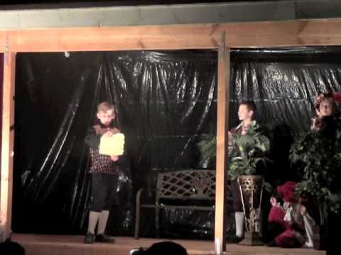 Quest Home School performance of Shakespeare's Twelfth Night