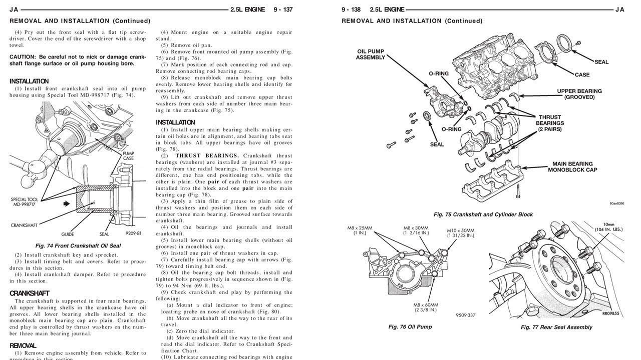 DOWNLOAD Dodge Stratus Repair Manual 2000-2003 (INSTANTLY