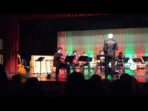 U.S. Grants high school guitar concert