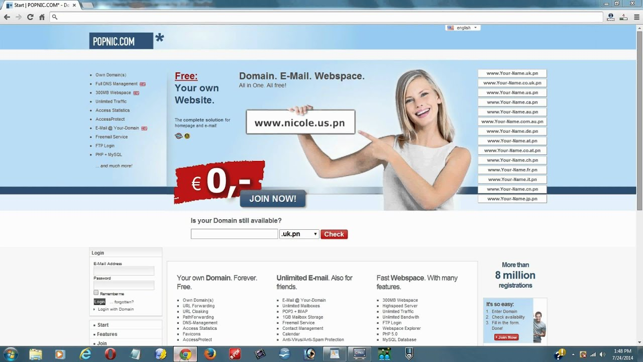 The Top 10 Best Free Domain Name Registration Services For 2014 ...