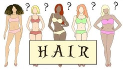 """HAIR for the """"BODY TYPES"""""""