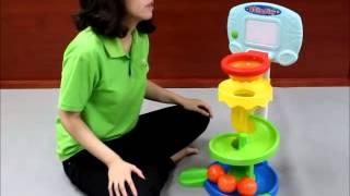 D.j. toys TE96 - Roll & Play Basketball Set