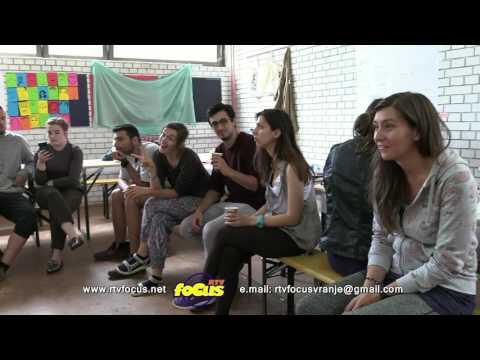 RTV focus VRanje  Art 2 link - proba Forum teatra    03072017