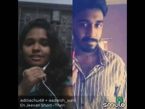 Unnale ennalum en jeevan the best smule version by Aditi and Adarsh