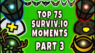 SURVIV.IO The TOP 25 MOST INSANE Moments of ALL TIME!