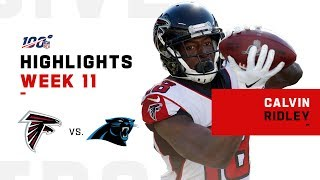Calvin Ridley Breaks Away for 143 Yds & 1 TD | NFL 2019 Highlights