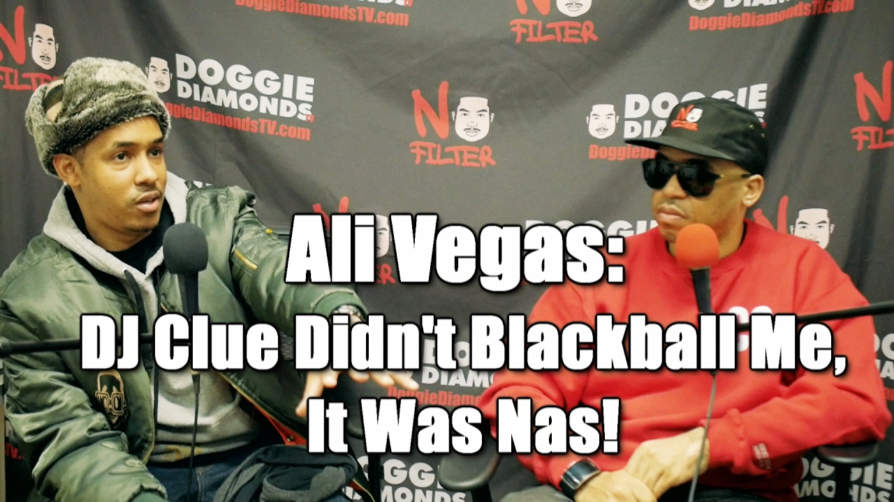 Ali Vegas: DJ Clue Didn't Blackball Me, It Was Nas! (Nas Was Threatened By Me)
