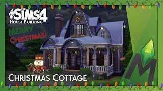 The Sims 4 House Building - Christmas Cottage