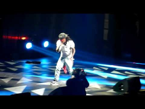Lil Wayne - Ice Cream Paint Job/ Green and Yellow LIVE (3-19-11)