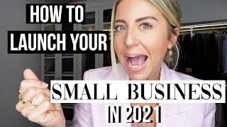 4 Things YOU MUST DO before launching a SMALL BUSINESS | Lindsay Albanese