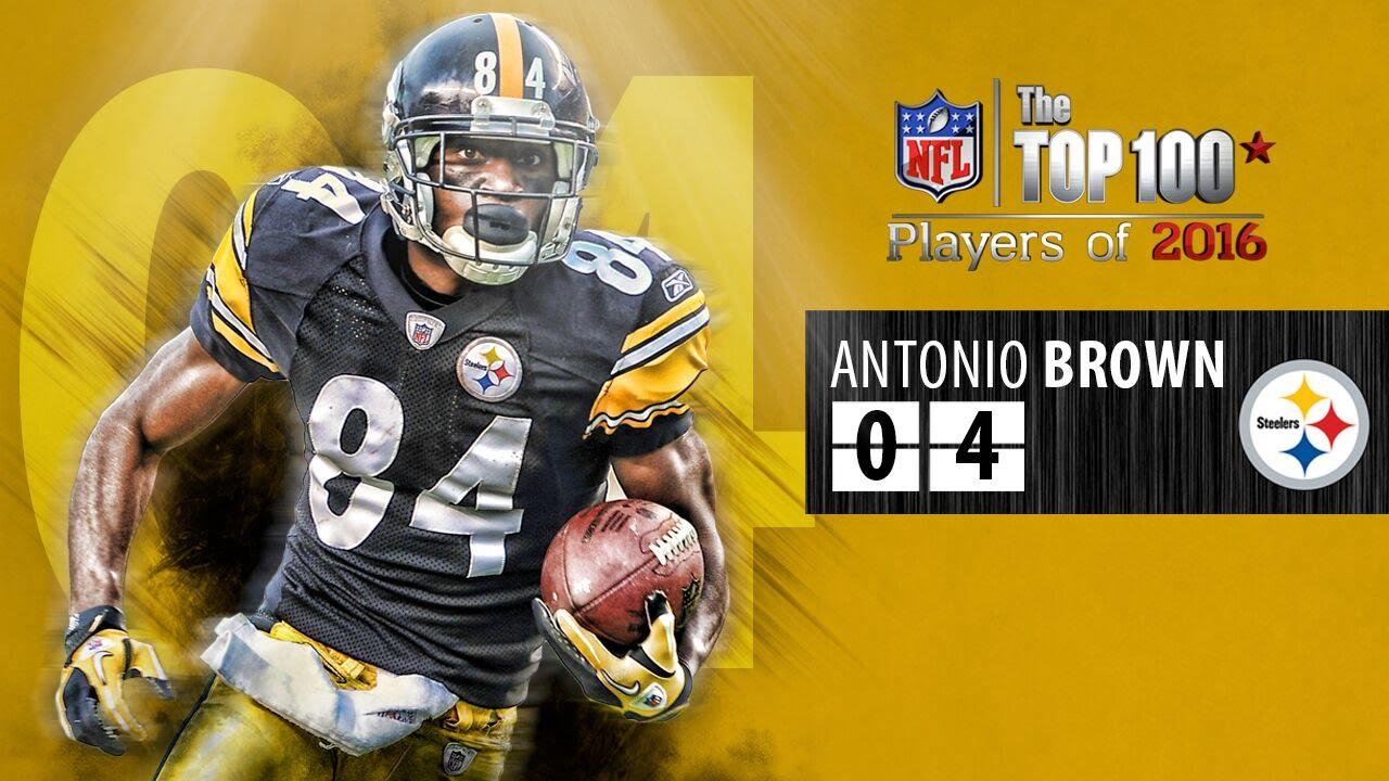 04 Antonio Brown WR Steelers