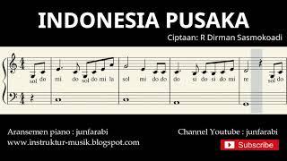 not balok indonesia pusaka - lagu wajib nasional - doremi / solmisasi