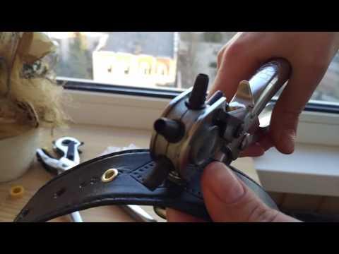 Установщик люверса, дырокол для ремней установщик кнопок с алиэкспресс