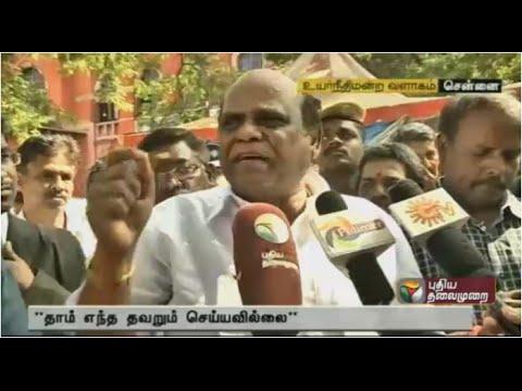 Madras HC Judge CS Karnan plays dalit caste card after Supreme Court action