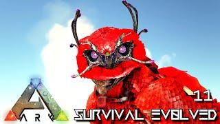 ARK: SURVIVAL EVOLVED - NEW BASE & FLAMING SNOW OWL !!! | PARADOS GAIA AMISSA E11