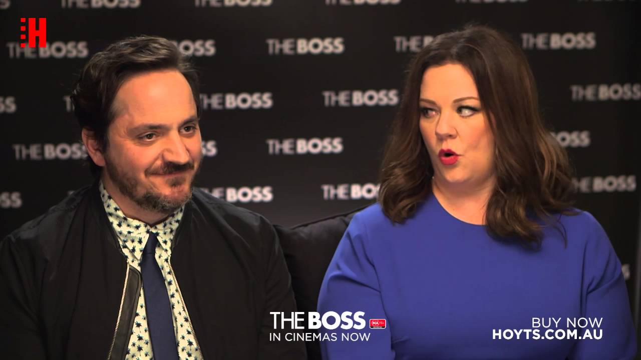 1bd2260c1f3 The Boss - Candy Bar secrets - Interview with Melissa McCarthy and Ben  Falcone