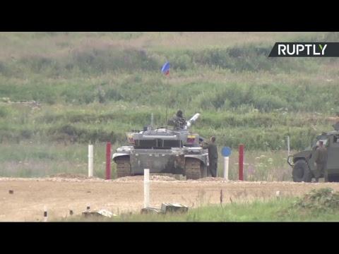 Соревнования по танковому биатлону в рамках Армейских международных игр — LIVE