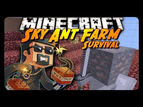 Sky Ant Farm Survival | IRON FARM?! | Ep. 8