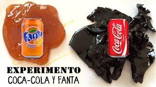 Experimento casero con Coca-Cola y Fanta