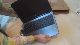 Hewlett-Packard HP 250 G3 notebook PC review