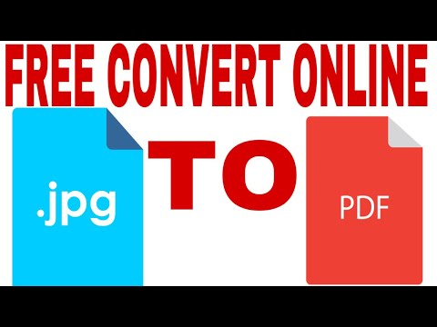 How To Convert Jpg To Pdf Online