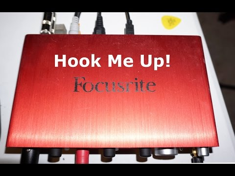 How to Hook Up the Focusrite Scarlett 2i4