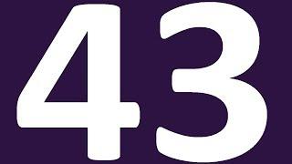 АНГЛИЙСКИЙ ЯЗЫК УРОК 43 УРОВЕНЬ 0  АНГЛИЙСКИЙ С НУЛЯ  АНГЛИЙСКИЙ ДЛЯ НАЧИНАЮЩИХ УРОКИ