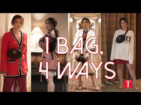 b4a4c1a7e 1 Bag, 4 Ways: How To Wear Your Belt Bag In 4 Different Ways - YouTube