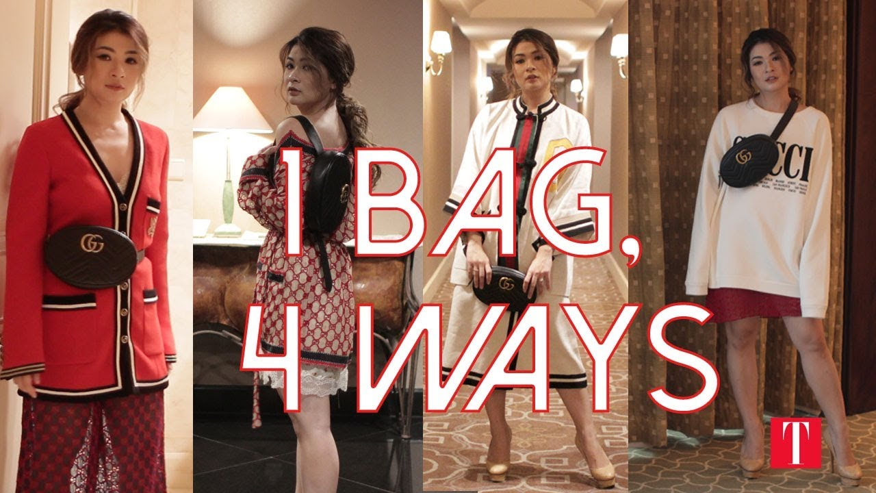 f415ab064938 1 Bag, 4 Ways: How To Wear Your Belt Bag In 4 Different Ways - YouTube