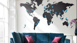 КАРТА в Интерьере - 2018 / MAP in the interior / MAP im Inneren