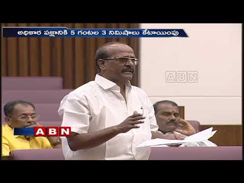 Yalamanchili Rajendra Prasad And Botsa Satyanarayana Speech Over AP Special Status | ABN Telugu