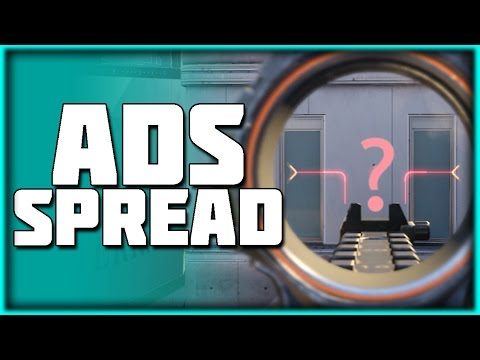 Random Aim with Some Guns!? | ADS Spread In BO3 Explained