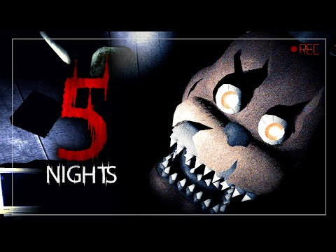 5 Nights - Nightmare In Space (Garry's Mod)