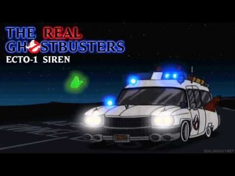 the real ghostbusters ecto 1 siren youtube. Black Bedroom Furniture Sets. Home Design Ideas